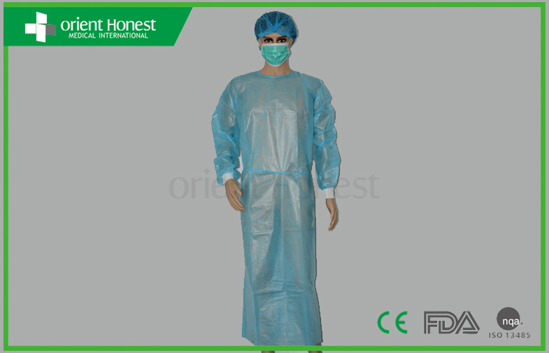 PP+PE Disposable Isolation Gown / Hospital Gown_WUHAN ORIENT HONEST ...
